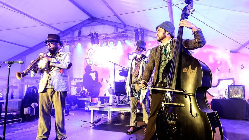 Jazz und Blues Open 2015: The Les Clöchards