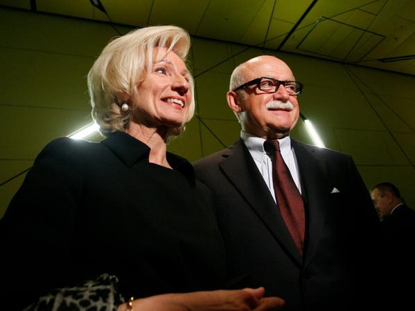 Lehner und Schmelzer oder auch: eine Kulturreferentin, ein Unternehmer, ein Paar.