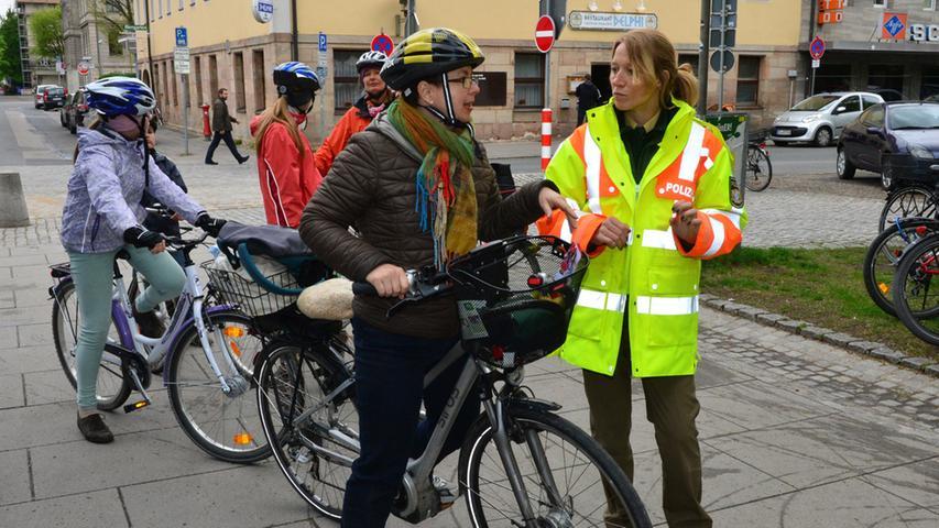 Die Polizei gab Tipps zur Sicherheit im Straßenverkehr.