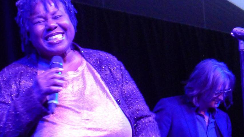 Publikum feierte Sängerin Randy Crawford mit starkem Beifall