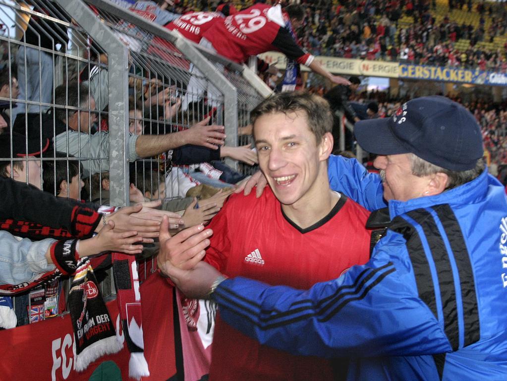 Marek Mintal, Liebling der Fans, verabschiedet sich von Nürnberg. Hier sehen Sie noch einmal die wichtigsten Stationen seiner FCN-Karriere.