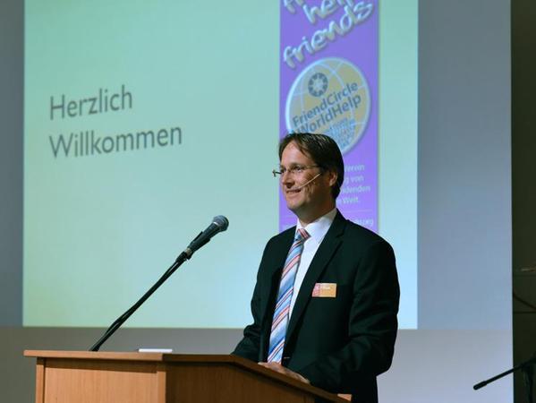 Frank Schmitz und sein Team vom Verein