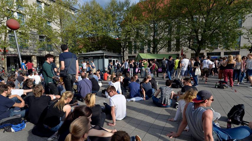 Zum Tag der Befreiung: Großer Rave in Erlanger Innenstadt