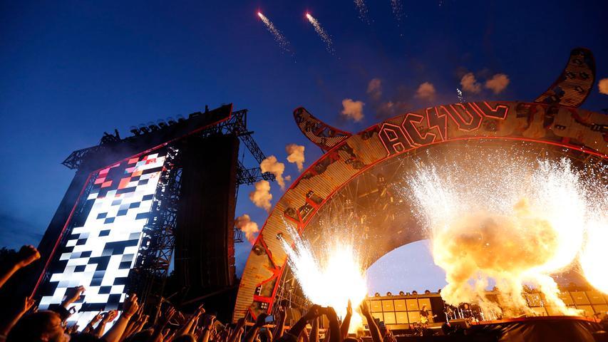 Rock or Bust! AC/DC bringen das Zeppelinfeld 2015 zum Beben