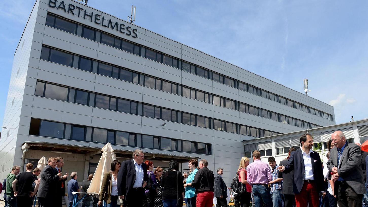 Das Foto zeigt das Firmengebäude in der Fürther Südstadt. (Archivfoto)