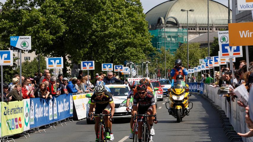 Nuernberg , 17.05.2015..Radrennen