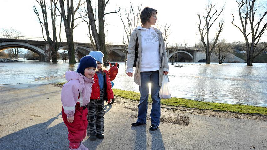 Wieder Hochwasser in Fürth