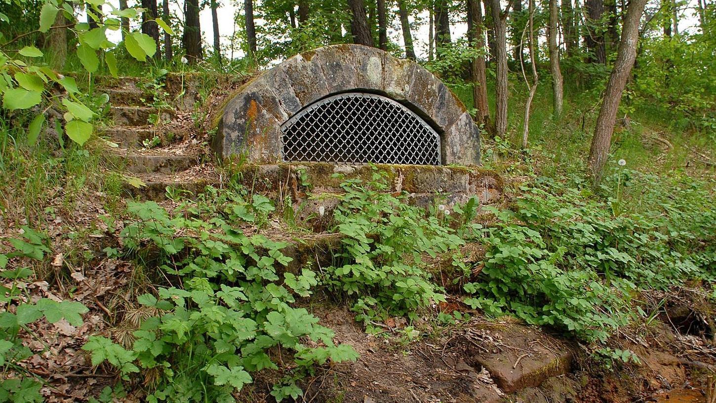 Der einst vielgepriesene Buckenhofer Gesundbrunnen ist nur noch ein Schatten vergangener Tage.