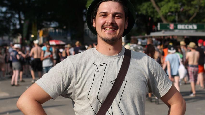 FOTO: Björn Bischoff, nordbayern.de; 06.06.2015. MOTIV: Nürnberg, Rock im Park 2015. Hier: Zuschauer