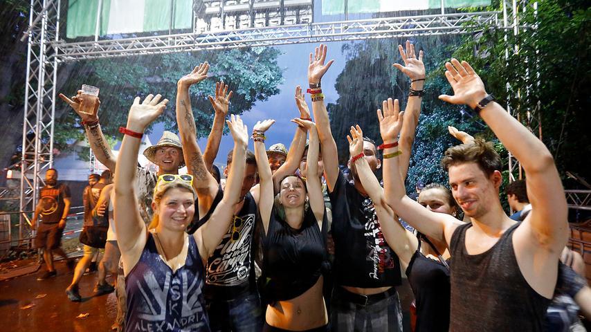 Rock im Park 2015; 06.06.2015 Foto: Günter Distler Motiv: Pulikum, Gelände