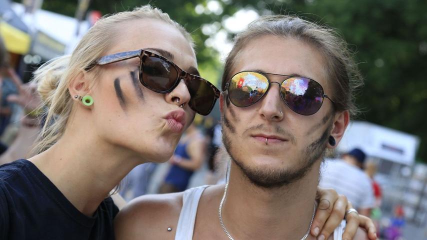 FOTO: Tobias Lang, nordbayern.de; 07.06.2015..MOTIV: Nürnberg, Rock im Park  2015..Hier: Zuschauer