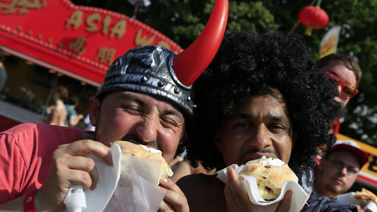 Mhhh! Die Essens-Qualität bei Rock im Park steigt nahezu jährlich. Ist das noch Festival-Feeling?