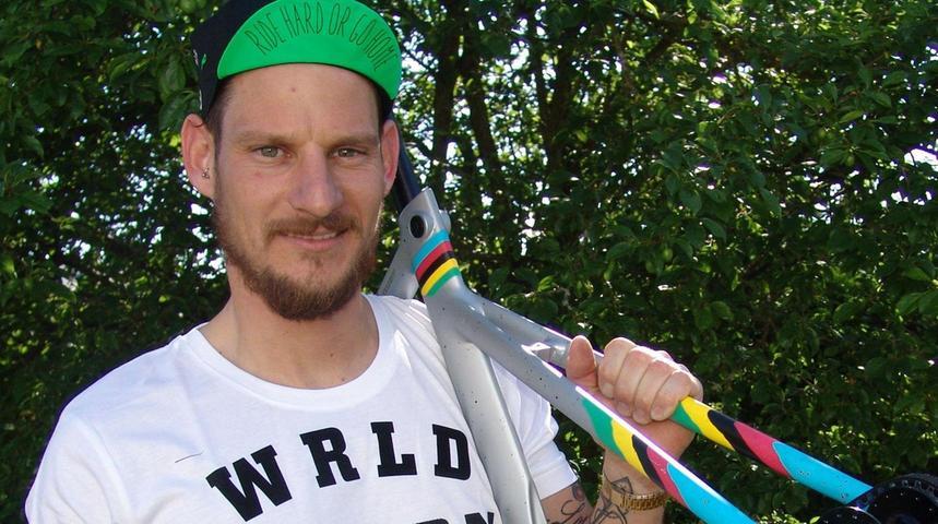 Katzwanger Sebastian Körber ist der erste Fixie-Weltmeister
