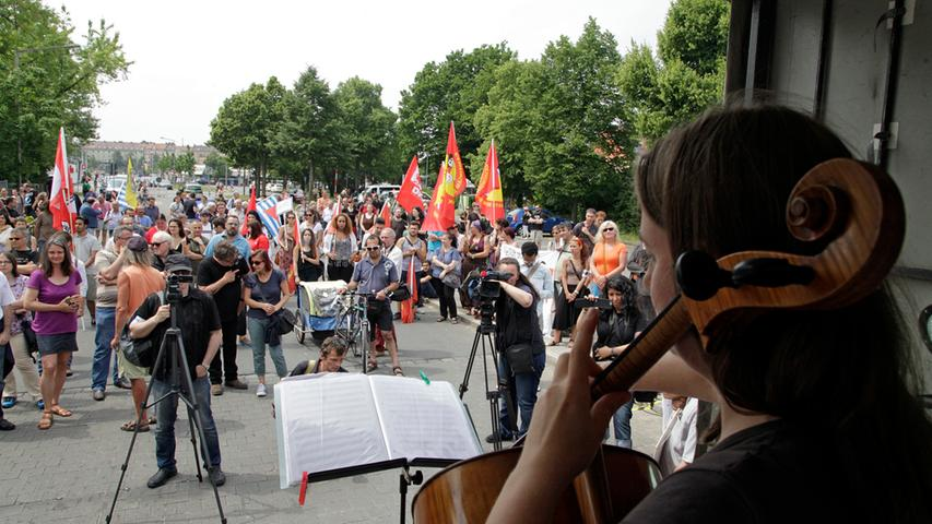 RESSORT: Lokales / Blitz / Online..DATUM: 13.06.15..FOTO: Michael Matejka  ..MOTIV: Gedenkveranstaltung