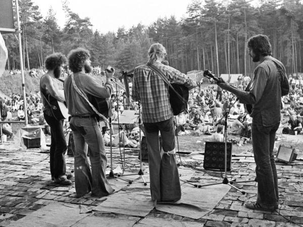 """Ende der 70er Jahre wurde das Meilwaldfest als """"Wald- und Wiesen-Folk-Fest"""" etabliert."""