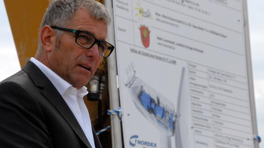 Herbert Krafft ist froh, dass viele lokale Firmen zum Einsatz kommen.