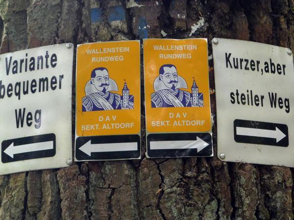 Wallenstein-Rundweg für SamSon