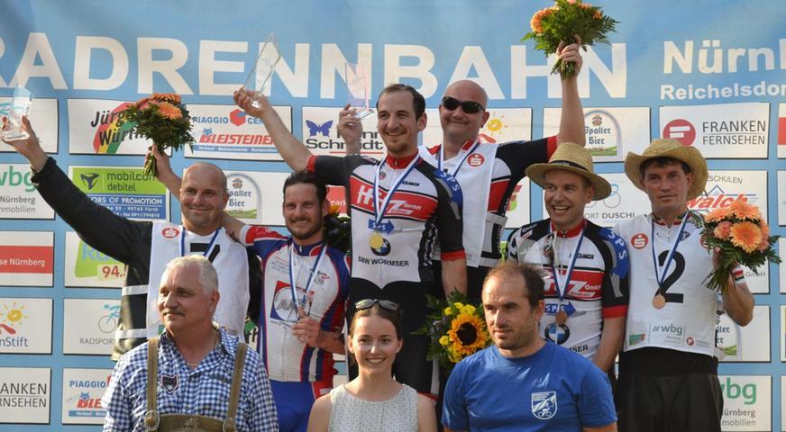 Thomas Steger gewann Bayerische Stehermeisterschaft