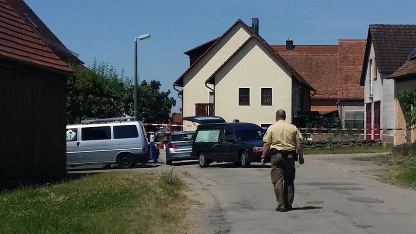 Amoklauf mit zwei Toten im Kreis Ansbach endet mit Festnahme