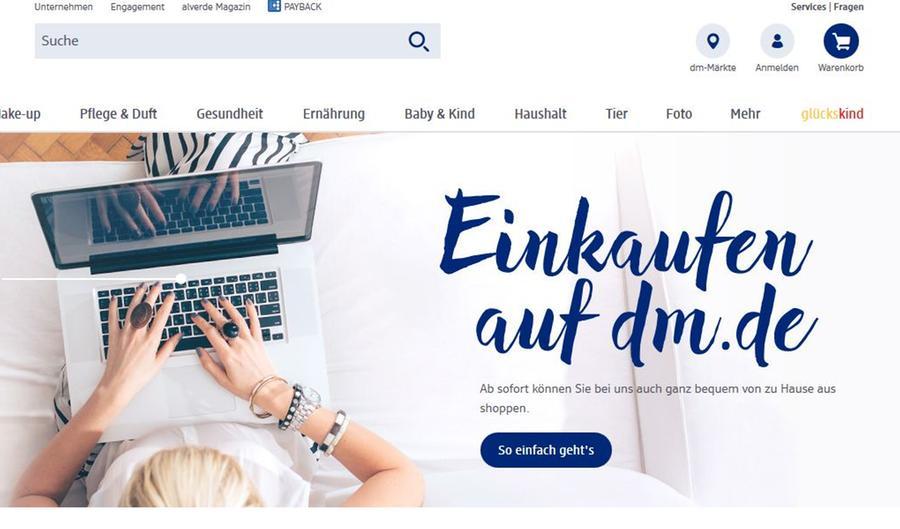 Nach Rossmann Und Muller Dm Startet Online Shop Wirtschaft Nordbayern De