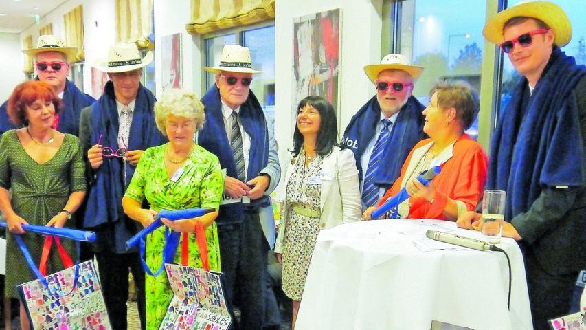 Schwabacher Herzlichkeit beeindruckt Gäste aus Les Sables