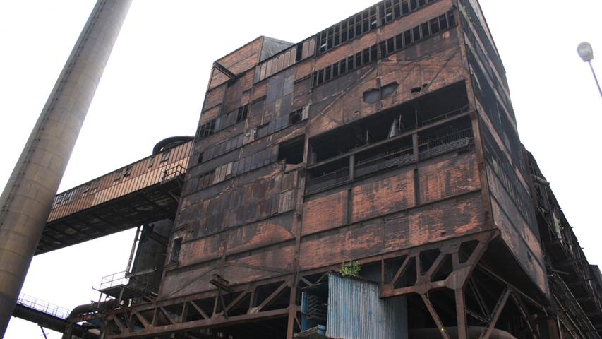 Ein weiterer Teil der Witkowitzer Eisenwerke. Im Juli findet hier...