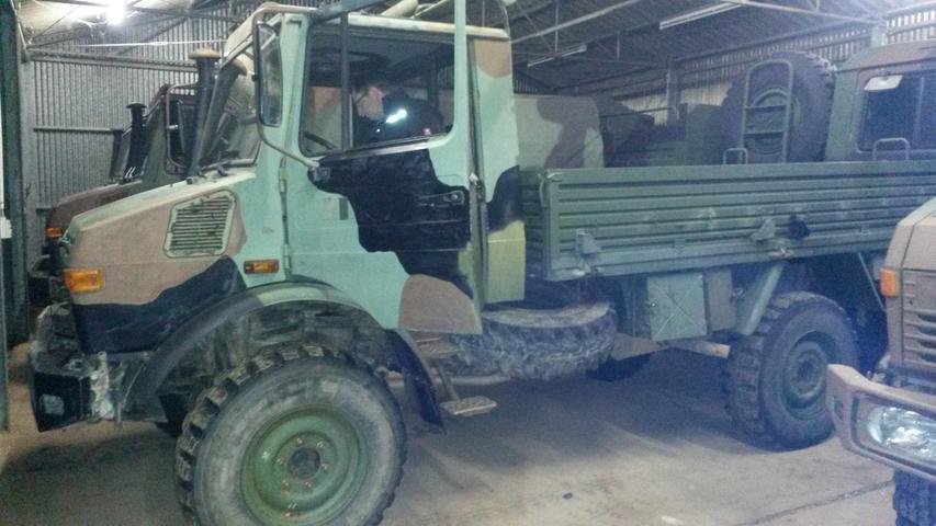 Wie aus einem Bundeswehr-Unimog ein Feuerwehrauto wurde