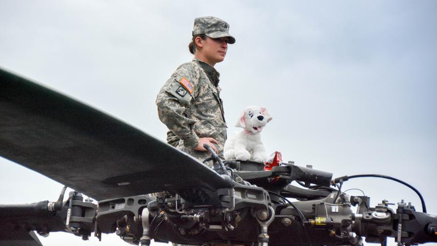 Die Bundeswehr und die US-Armee halten dort jedes Jahr eine gemeinsame Waffenschau.