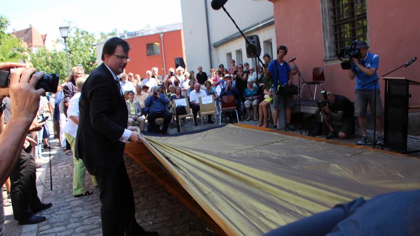 Hexenmahnmal in Bamberg: Brandnarben auf Haut der Stadt