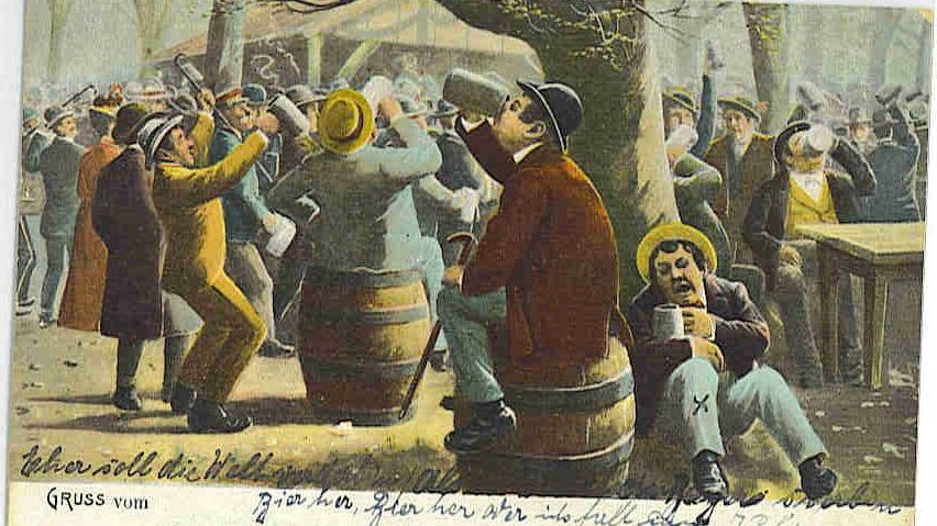 Motiv: Annafest Forchheim; historische Postkarte - um 1921 ..Foto: Pfalzmuseum  Forchheim
