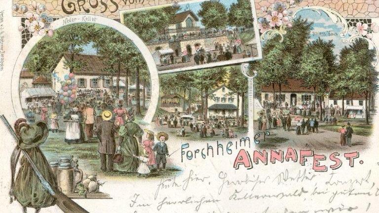 Motiv: Annafest historisch..Foto: privat