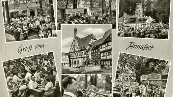 Annafest: So sah es früher im Forchheimer Kellerwald aus