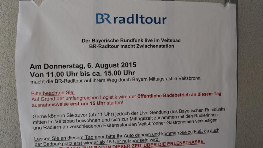 BR-Radltour in Veitsbronn