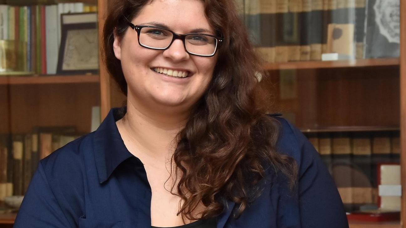 Sie will Menschen zusammenbringen, vernetzen und vermitteln: Julia Steger.
