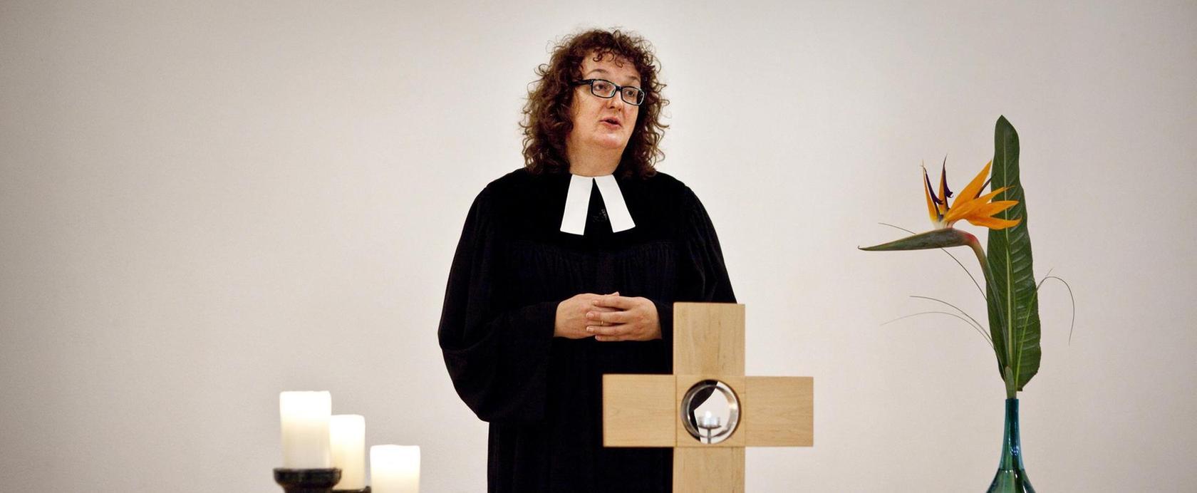 Pfarrerin Dorothea Zwölfer wird künftig die Pfarrstellen Mühlhausen und Weingartsgreuth betreuen.