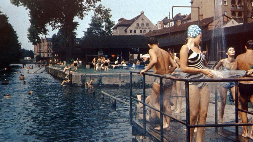 Ein Hauch von Riviera in Fürth: Vom Flussbad zum Kulturort