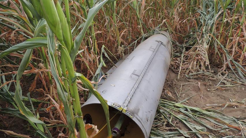 F-16-Absturz: Schrottteile zeugen von dem Unglück