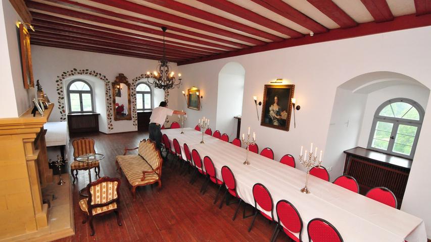 Luxus zum Mieten: Burg Hiltpoltstein erstrahlt in neuem Glanz