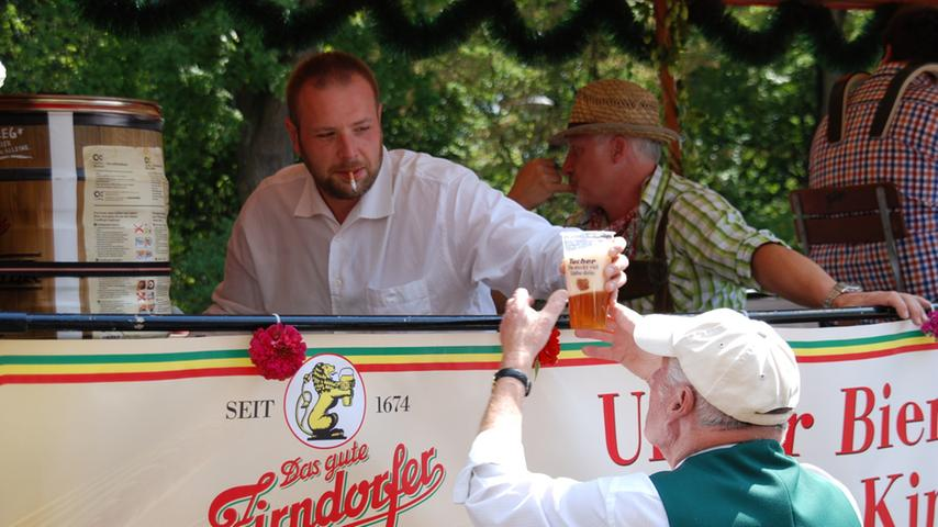 Kirchweih-Festumzug Zirndorf 2015: Bierfuehrer-Verein 1892 Fuerth