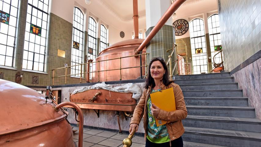 MIP-Geschäftsführerin Isabel Fürsattel im ehemaligen Sudhaus.