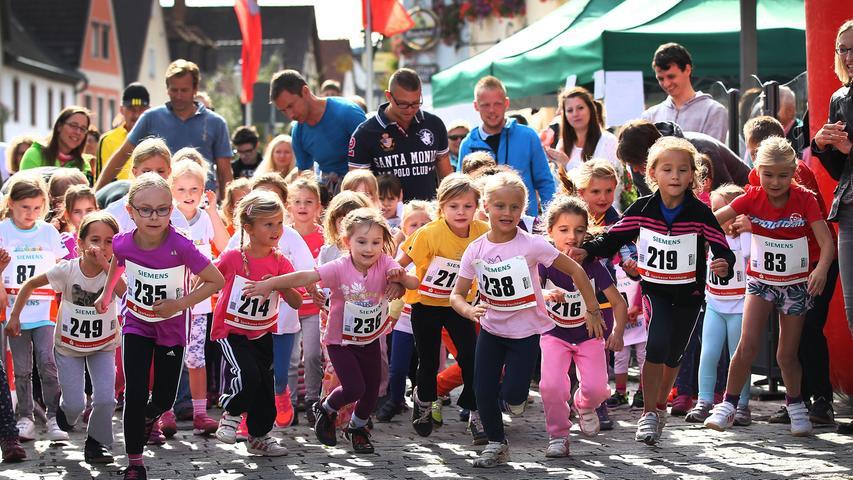 Fränkische Schweiz-Marathon: Die Bambini- und Schülerläufe