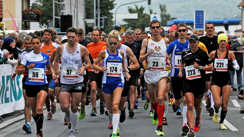 Soweit die Füße tragen: Fränkische Schweiz-Marathon