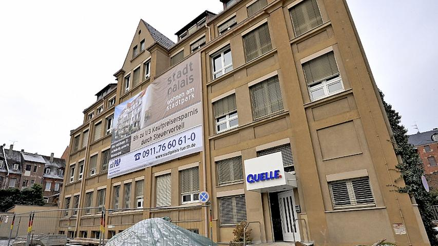 450 Wohnungen in alten Quelle-Häusern