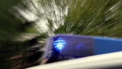 Bei dem Unfall überfuhr der 45-Jährige auch eine Straßenlaterne.