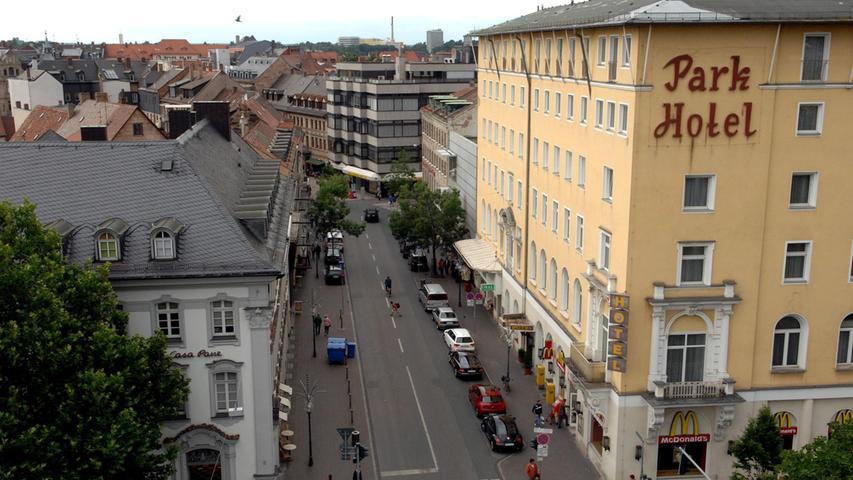 Fürths Neue Mitte: Abriss und Bau im Zeitraffer