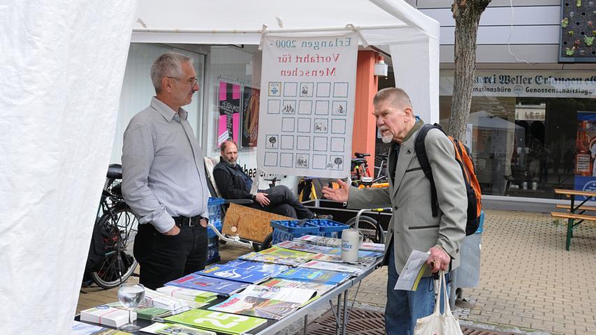 Redaktion: Erlangen..Fotograf: Athina Tsimplostefanaki..Motiv:  Nachhaltigkeitstag in der Altstadtmarktpassage..Datum: 26.09.2015