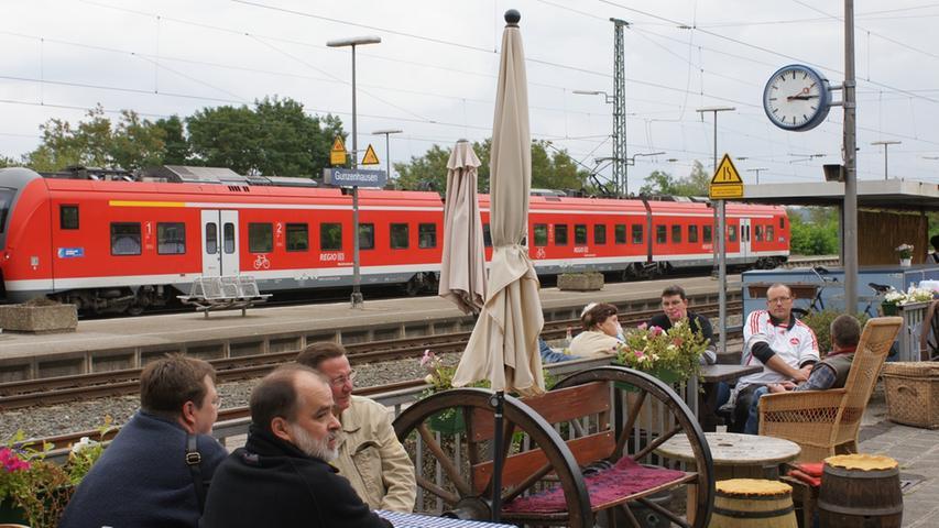 2015: 150. Geburtstag des Bahnhof Gunzenhausen