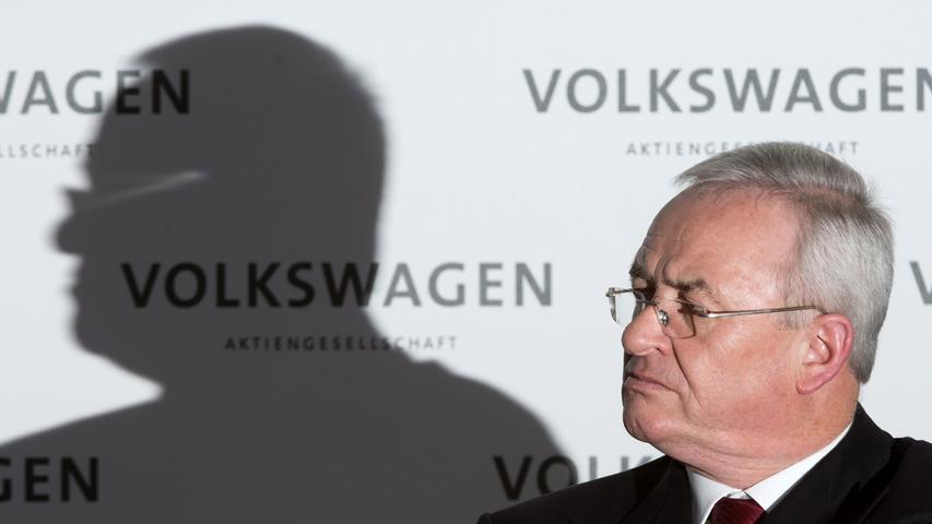 23. September 2015: VW-Chef Martin Winterkorn tritt zurück.