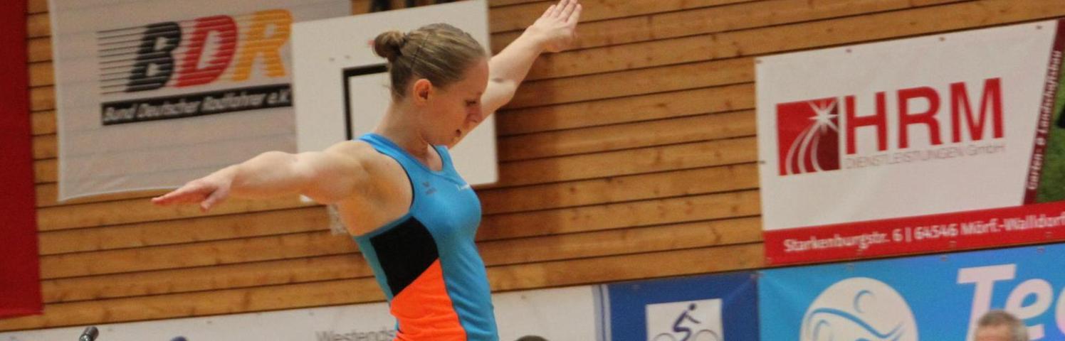 Blitzsaubere Vorstellung in Mörfelden: Zwei Wochen vor den Deutschen unterstrich Milena Slupina ihre Zugehörigkeit zur nationalen Spitze.