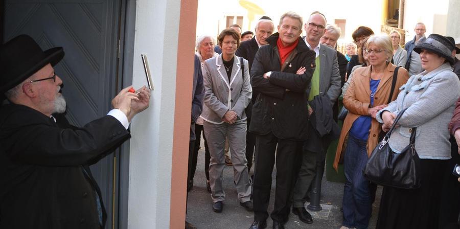 Jüdisches Museum in Schwabach wurde feierlich eingesegnet